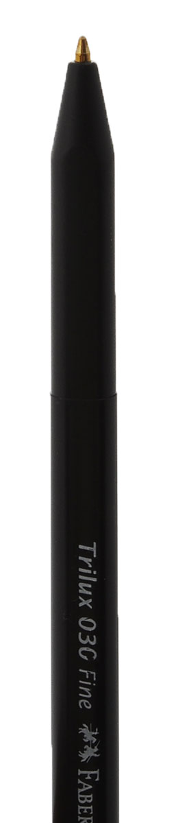 Шариковая ручка Faber-Castell TRILUX 030-Fстанет незаменимым атрибутом учебы или работы. Корпус ручки и колпачок выполнены из пластика черного цвета. Высококачественные черные чернила позволяют добиться идеальной плавности письма.Ручка оснащена клип-зажимом для удобной фиксации на бумаге или одежде.В комплект входят 2 ручки.