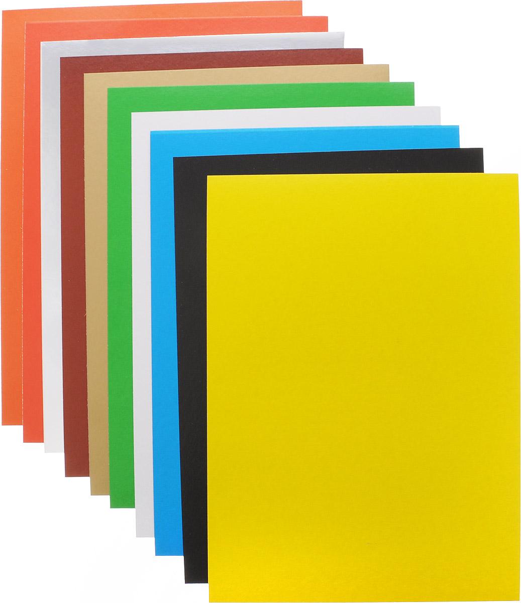 Набор цветного мелованного картона Action! Celebrate позволит ребенку раскрыть свой творческий потенциал. Набор содержит 10 листов цветного картона, включая золотистый и серебристый листы. Создание поделок из цветного картона - это увлекательнейший процесс, способствующий развитию у ребенка фантазии и творческого мышления.Набор прекрасно подойдет для рисования, создания аппликаций, оригами, изготовления поделок из картона. Порадуйте своего малыша таким замечательным подарком!Набор прекрасно подойдет для рисования, создания аппликаций, оригами, изготовления поделок из картона. Порадуйте своего малыша таким замечательным подарком!В комплекте представлены 2 набора цветного картона по 10 листов.