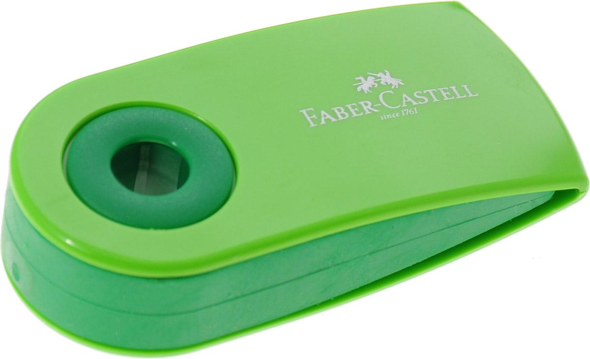 Ластик Sleeve Faber-Castell станет незаменимым аксессуаром на рабочем столе не только школьника или студента, но и офисного работника. Аккуратный и не оставляет грязных разводов. Кроме того высококачественный ластик не содержит ПВХ. Не повреждает бумагу даже при многократном стирании. Специальный удобный пластиковый футляр позволит защитить ластик от повреждений.