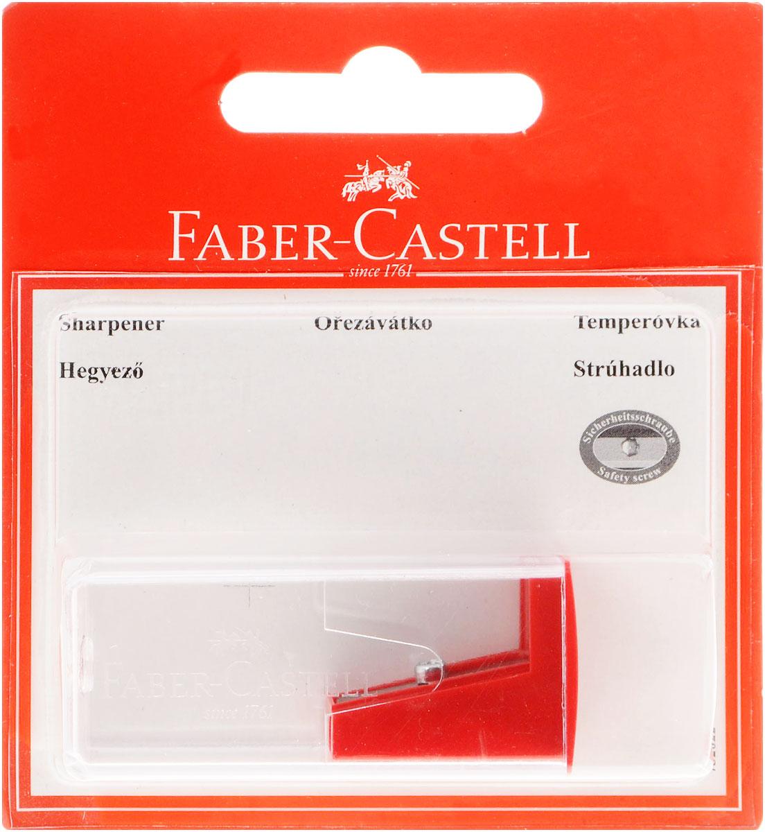 Точилка Faber-Castell предназначена для затачивания карандашей диаметром 8 мм. Прозрачный контейнер позволяет определить уровень заполнения и вовремя произвести очистку. Острые стальные лезвия обеспечивают высококачественную и точную заточку деревянных карандашей.