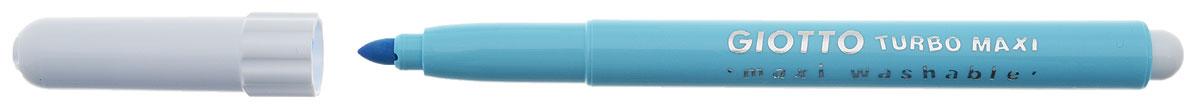 Фломастеры Giotto Turbo Maxi - это 6 ярких насыщенных цветов в разноцветных пластиковых корпусах (цвет корпуса соответствует цвету чернил). Наконечники фломастеров устойчивы к повышенному давлению и не разнашивается со временем. Каждый фломастер оснащен плотным вентилируемым колпачком, защищающим чернила от испарения.  Фломастеры утолщенной формы, что очень удобно для детских пальчиков. Чернила изготовлены на водной основе. Легко отстирываются и смываются с рук.  Фломастеры Giotto Turbo Color - идеальный инструмент для самовыражения и развития маленького художника!