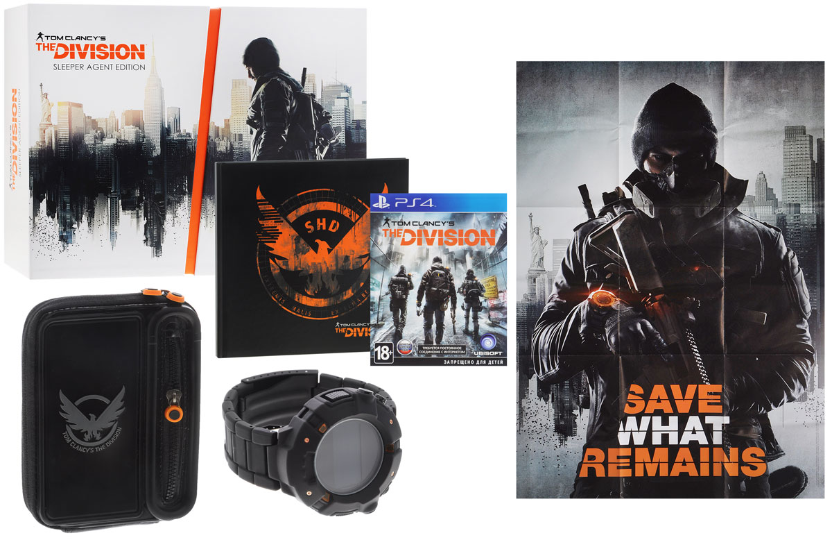 Tom Clancy's The Division.  Sleeper Agent Edition (PS4) Ubisoft Massive,Ubisoft Reflections,Red Storm Entertainment,Annecy