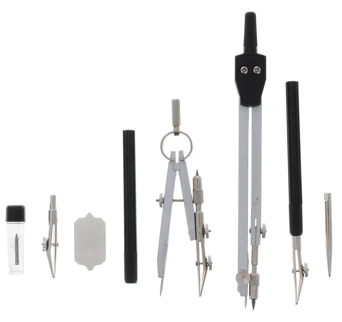 Готовальня Perfecta Studio включает в себя циркуль с пластиковым держателем и грифелем, кронциркуль с рейсфедером, дополнительный рейсфедер, двухстороннюю металлическую отвертку, игольную вставку, рейсфедер с держателем, запасной грифель, удлинитель для циркуля. Благодаря высокому качеству материалов и сборки, надежные чертежные инструменты Perfecta прослужат вам много лет. Отличный выбор и для учащихся, и для профессионалов. Предметы упакованы в пластиковый футляр с прозрачной крышкой.
