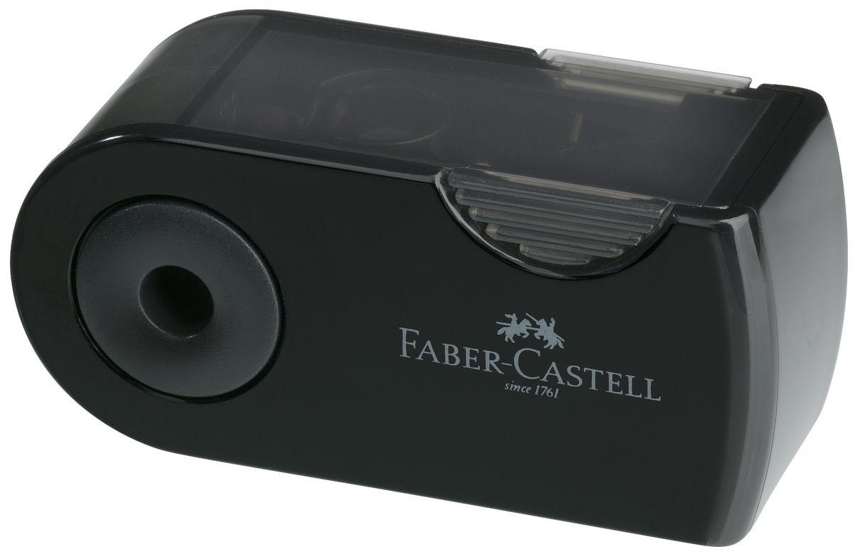 Мини-точилка Faber-Castell Sleeve выполнена из прочного пластика и предназначена для затачивания для классических, трехгранных чернографитных ицветных карандашей.В точилке имеется одно отверстие для карандашей классического диаметра. Эргономичная форма контейнера обеспечивает стабильное положение кисти. Карандаш затачивается легко и аккуратно, а опилки после заточки остаются в специальном контейнере повышенной вместимости.