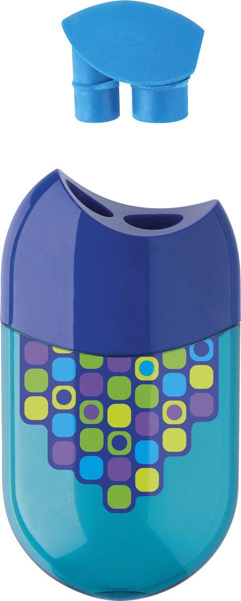 Точилка с двумя отверстиями Faber-Castell Диско - это качественная простая точилка с контейнером для стружек и ластиком.Точилка выполнена в привлекательном дизайне и предназначена для всех типов карандашей.