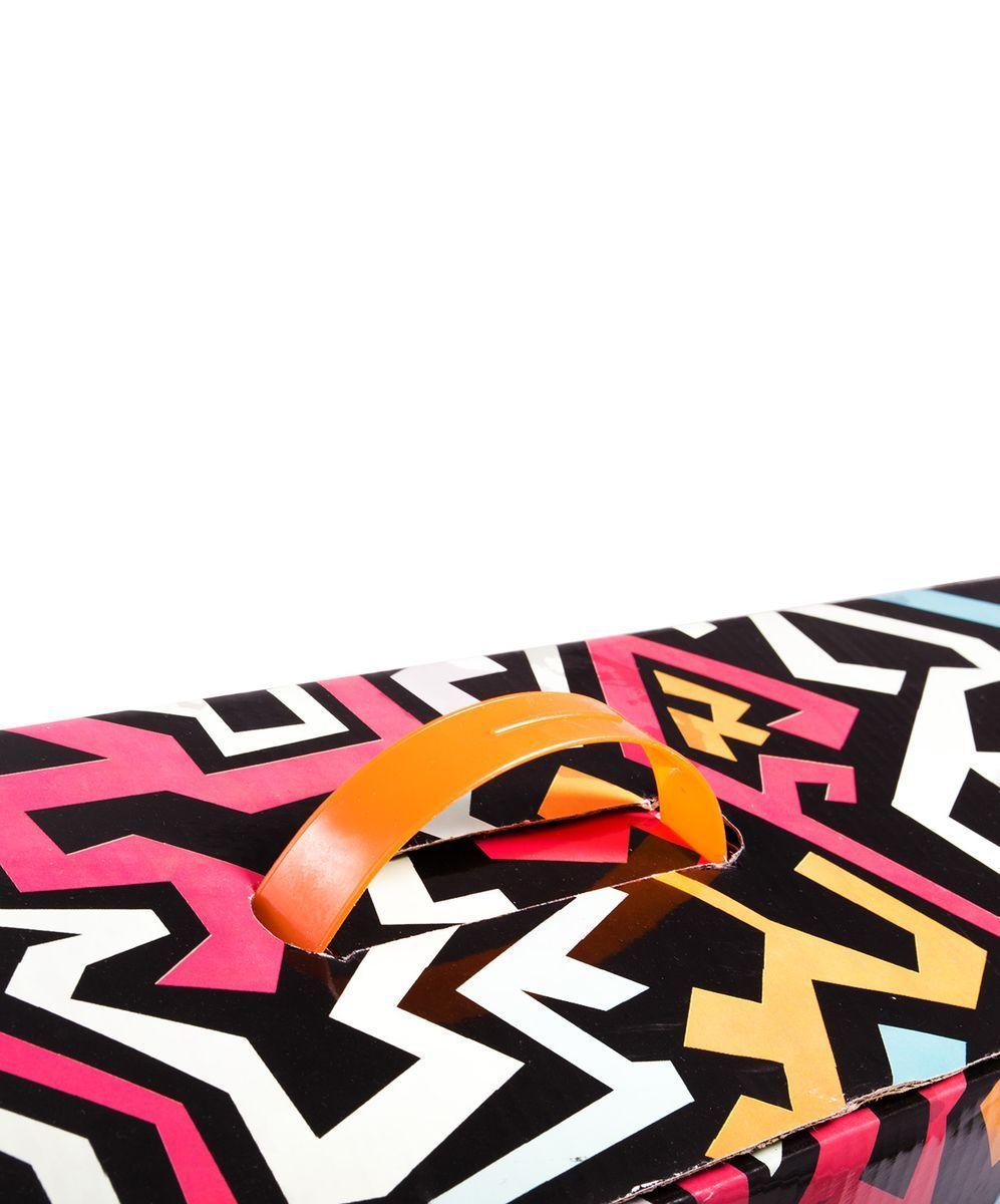 Самокат 3-колесный Ridex 3D Magic (120/80 мм), цвет:  оранжевый Ridex