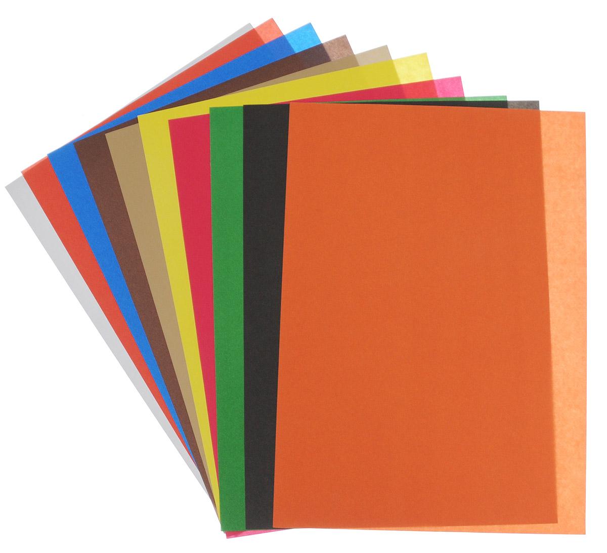 Картинка из цветная бумажка