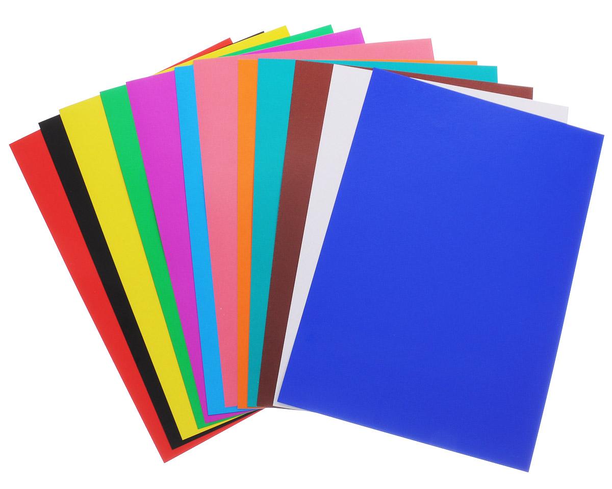 Как сделать цветной картон для открыток