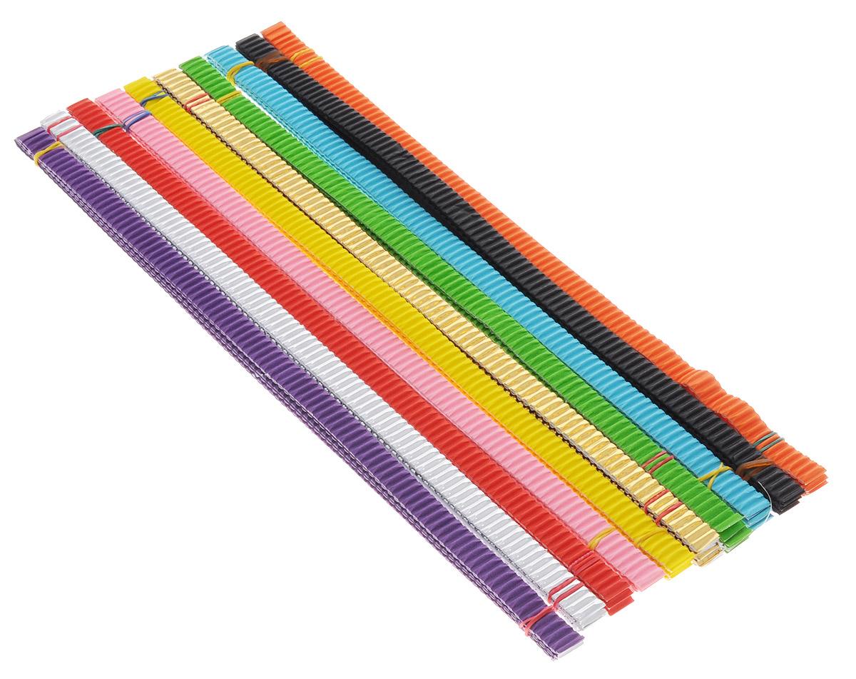Цветной гофрированный картон для квиллинга Апплика Краб позволит вашему ребенку создавать всевозможные аппликации и поделки. Набор состоит из полосок гофрированного картона 10 цветов: желтого, оранжевого, салатового, красного, розового, черного, фиолетового, золотого, серебряного и голубого. В упаковке 6 полосок каждого цвета. Создание поделок из цветного гофрированного картона поможет ребенку в развитии творческих способностей, увлечет и подарит ему праздник и хорошее настроение.