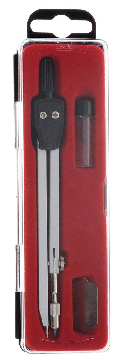 Готовальня Perfecta School с малым циркулем предназначена для учащихся младших и средних классов. Металлический циркуль длиной 13,5 мм оснащен фиксированной иглой, пластиковым держателем и негнущимся коленом.  В комплект также входит запасной грифель и двухсторонняя металлическая отвертка. Инструменты упакованы в легкий пластиковый пенал.Благодаря высокому качеству материалов и сборки, надежные чертежные инструменты Perfecta прослужат вам много лет.