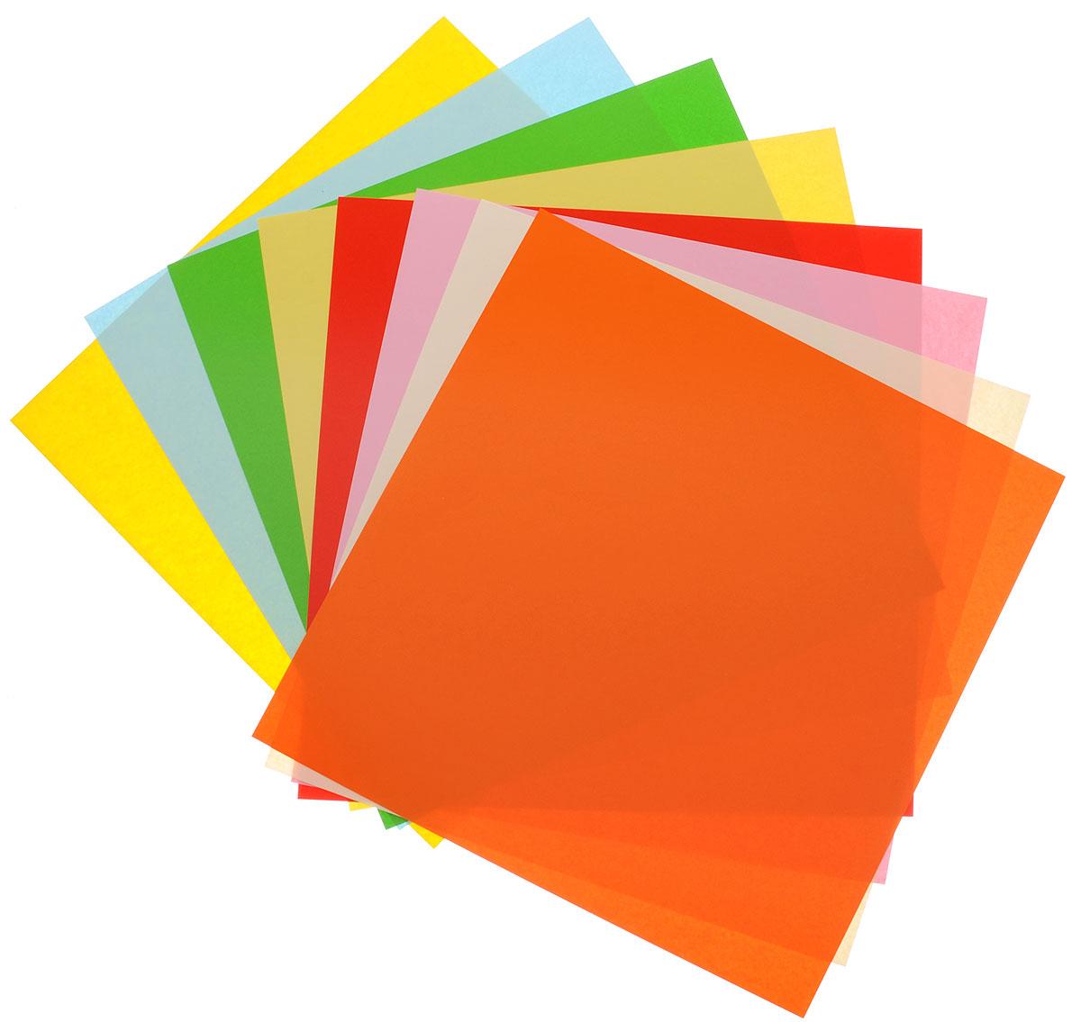Набор цветной бумаги Апплика Павлин позволит создавать вашему ребенку своими руками оригинальное оригами. Набор состоит из 8 листов двусторонней бумаги разных цветов. Внутри папки приводятся схематичные инструкции по изготовлению оригами, сзади дана расшифровка условных обозначений. Создание поделок из цветной бумаги позволяет ребенку развивать творческие способности, кроме того, это увлекательный досуг.Рекомендуемый возраст: 5+