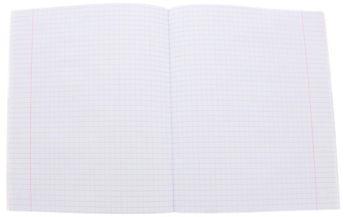 Тетрадь Hatber Белка отлично подойдет для занятий школьнику, студенту или для различных записей.Обложка, выполненная из плотного картона, позволит сохранить тетрадь в аккуратном состоянии на протяжении всего времени использования. Лицевая сторона оформлена изображением симпатичной белочки и осеннего леса. Внутренний блок тетради, соединенный двумя металлическими скрепками, состоит из 48 листов белой бумаги. Стандартная линовка в клетку голубого цвета дополнена полями, совпадающими с лицевой и оборотной стороны листа.