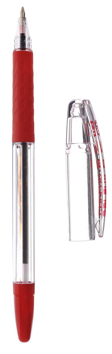 Шариковая ручка Pentel Superb G станет незаменимым атрибутом для учебы или работы. Корпус ручки выполнен из пластика. Высококачественные красные чернила позволяют добиться идеальной плавности письма.Ручка оснащена клип-зажимом для удобной фиксации на бумаге или одежде.