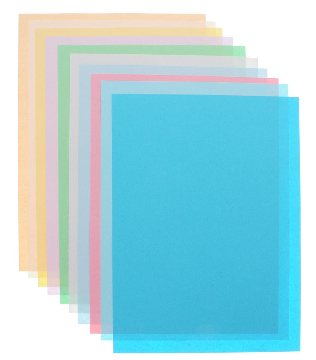 Набор цветной мелованной бумаги Silwerhof позволит создавать всевозможные аппликации и поделки. Набор состоит из двух папок по 10 листов в каждой двухсторонней цветной бумаги формата А4.  Создание поделок из цветной бумаги поможет ребенку развить творческие способности, кроме того, это увлекательный досуг.Бумагу можно использовать для поделок оригами. При многоразовом сгибании листа на бумаге не появляются трещины, так как она обладает очень высоким качеством.   Бумага хорошо комбинируется с цветным картоном.