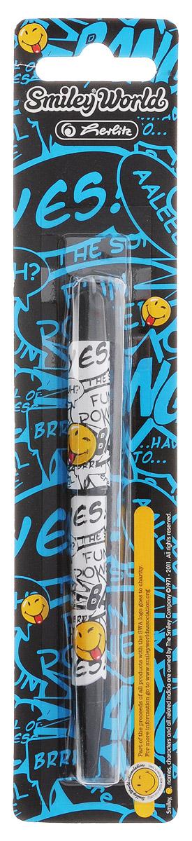Шариковая ручка Herlitz Smiley World в пластиковом корпусе станет незаменимым атрибутом любого школьника.Она долго пишет благодаря увеличенному запасу чернил и возможности замены стержня.Цвет чернил: синий.