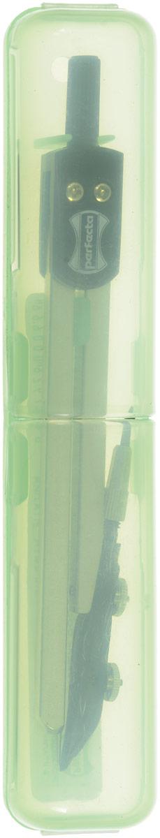 Готовальня Perfecta Studio состоит из металлического циркуля с пластиковым держателем. Благодаря высокому качеству материалов, надежные чертежные инструменты Perfecta прослужат вам много лет. Отличный выбор и для учащихся, и для профессионалов. Циркуль упакован в пластиковый футляр светло-зеленого цвета.