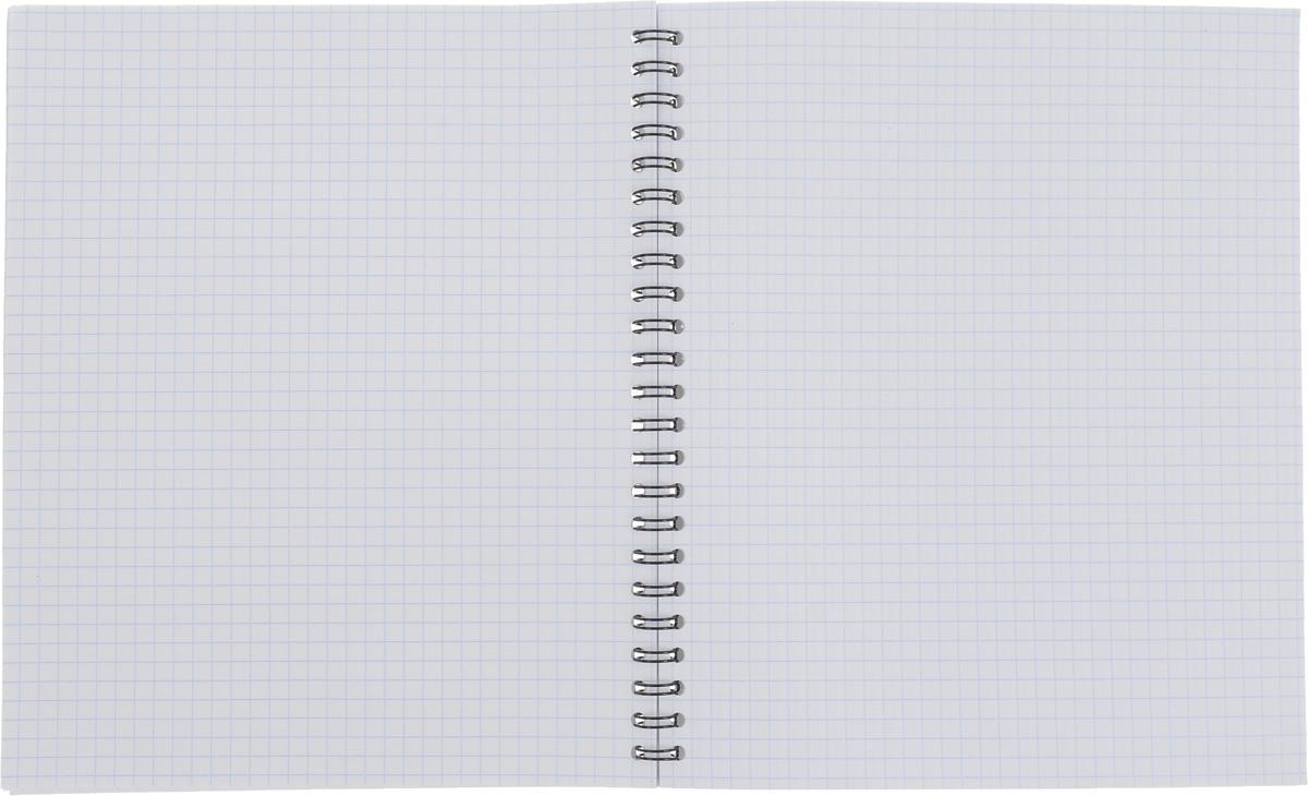 Тетрадь Erich Krause на металлическом гребне пригодится как школьнику, так и студенту.Такое практичное и надежное крепление позволяет отрывать листы и полностью открывать тетрадь на столе. Обложка изготовлена из картона и оформлена изображением забавных котов.Внутренний блок выполнен из белой бумаги в стандартную клетку без полей. Тетрадь содержит 60 листов.Вне зависимости от профессии и рода деятельности у человека часто возникает потребность сделать какие-либо заметки. Именно поэтому всегда удобно иметь эту тетрадь под рукой, особенно если вы творческая личность и постоянно генерируете новые идеи.