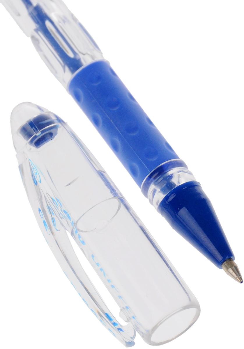 Шариковая ручка Cello Gripper - это удобная письменная принадлежность, которая подойдет и взрослым, и детям. Ручка имеет прозрачный трёхгранный корпус со специальной подушечкой для пальцев из антибактериального каучука, которая создает дополнительный комфорт при использовании. Стреловидный пишущий узел обеспечивает идеальную тонкую линию письма.