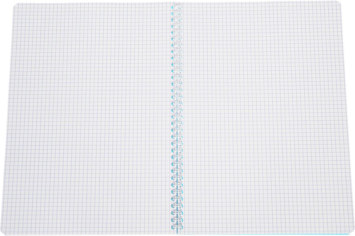 Красивая и практичная тетрадь Oxford My Colours отлично подойдет для офиса и учебы. Тетрадь формата А4 состоит из 50 белых листов с четкой яркой линовкой в клетку. Обложка тетради выполнена из плотного полипропилена и оформлена символом Оксфордского университета. Двойная спираль надежно удерживает листы. Также тетрадь имеет скругленные углы и гибкую съемную закладку-линейку из матового прозрачного пластика.