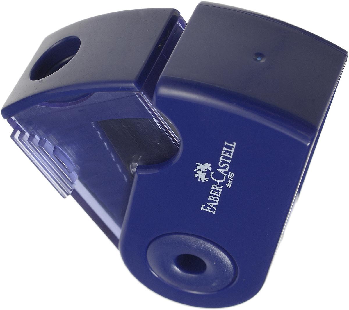 Мини-точилка Faber-Castell Sleeve выполнена из прочного пластика.В точилке имеется одно отверстие для карандашей классического диаметра. Эргономичная форма контейнераобеспечивает стабильное положение кисти. Карандаш затачивается легко иаккуратно, а опилки после заточки остаются в специальном контейнереповышенной вместимости.