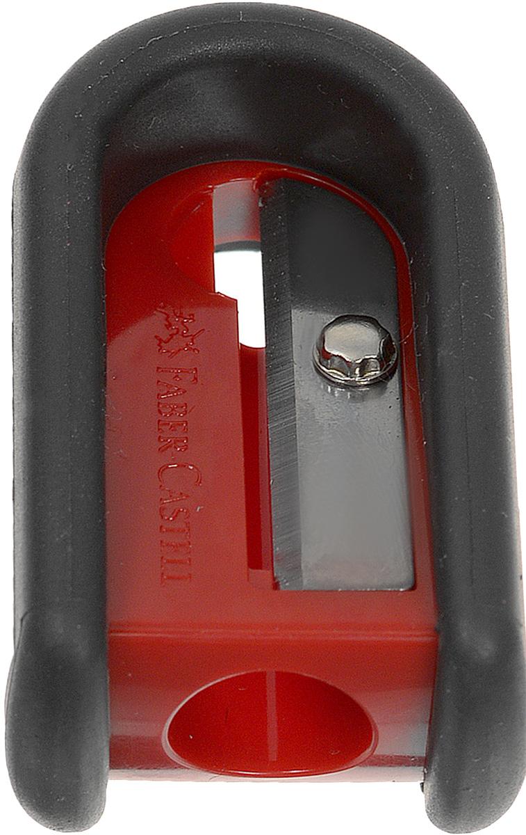 Точилка Faber-Castell предназначена для затачивания классических простых и цветных карандашей. Точилка, выполненная в форме магнита, содержит матовую область для захвата. Острые лезвия обеспечивают высококачественную и точную заточку деревянных карандашей.