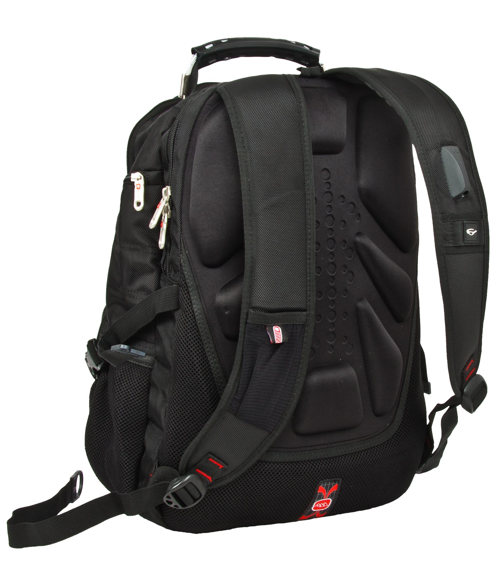 Рюкзак городской Polar, цвет:  черный.  34л.  3051 POLAR