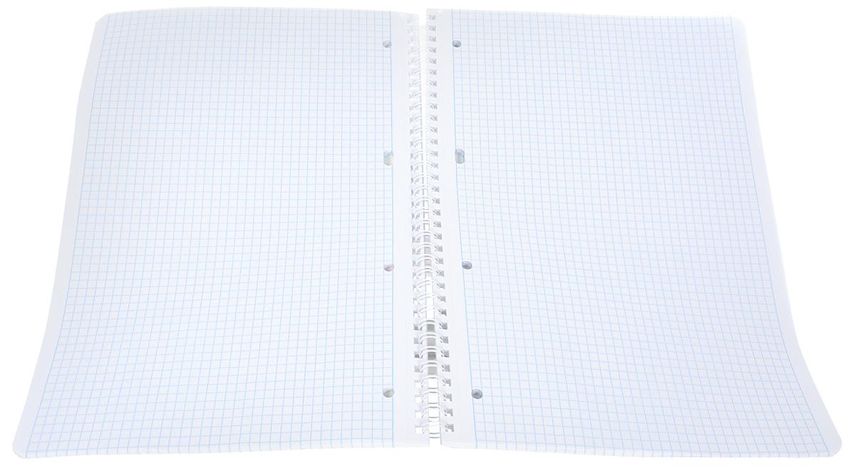 Тетрадь Hatber Аквалайф отлично подойдет для школьников, студентов и офисных работников.Обложка, выполненная из плотного картона, позволит сохранить тетрадь в аккуратном состоянии на протяжении всего времени использования. Лицевая сторона оформлена изображением морского пейзажа.Внутренний блок тетради, соединенный металлическим гребнем, состоит из 96 листов белой бумаги. Стандартная линовка в клетку голубого цвета без полей.