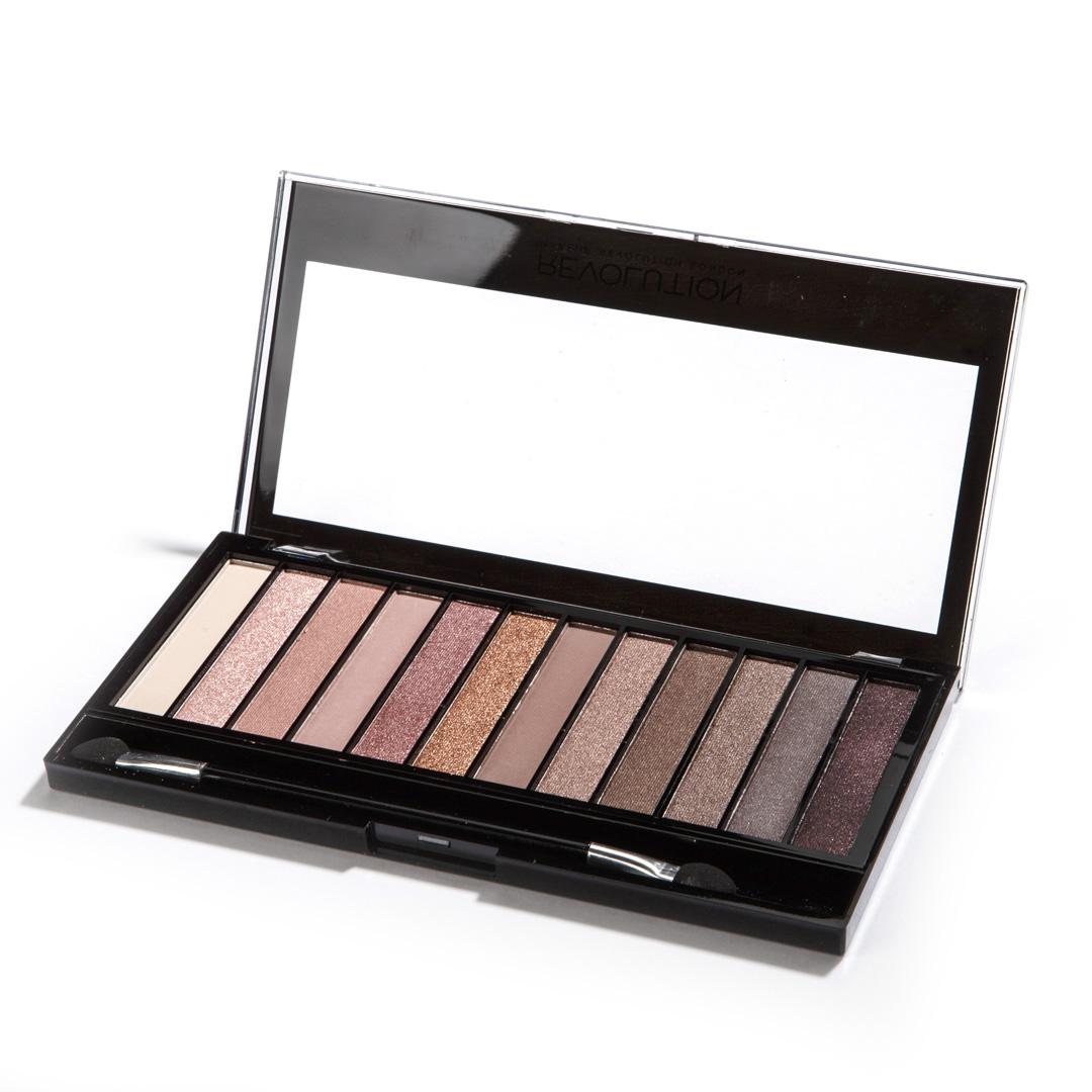 Makeup RevolutionНабор теней Redemption Palette, Iconic 3, нюдовая, 14 гр Makeup Revolution