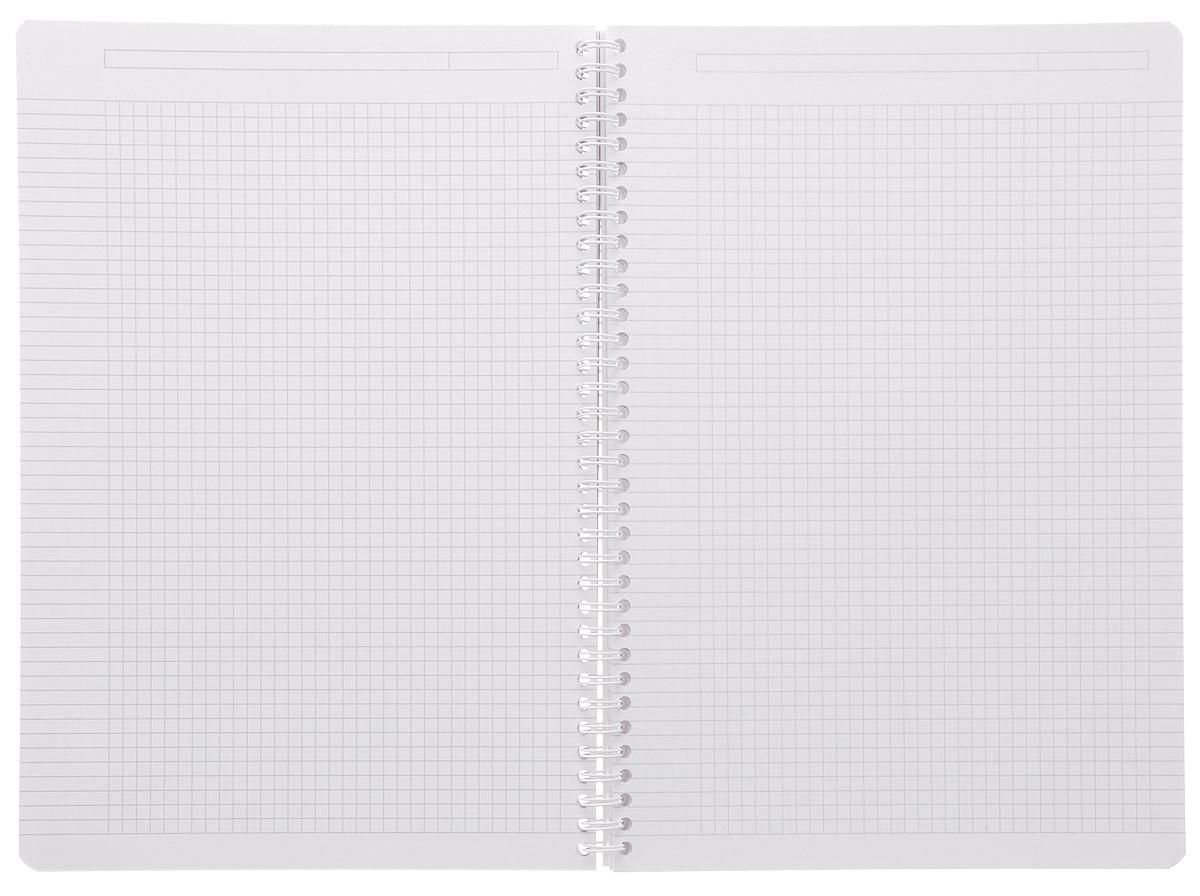 Красивая и практичная тетрадь Oxford Urban Mix отлично подойдет для офиса и учебы. Тетрадь формата А5 состоит из 90 белых листов с четкой яркой линовкой в клетку.Обложка тетради выполнена из плотного полипропилена и оформлена символом Оксфордского университета. Двойная спираль надежно удерживает листы. Также тетрадь имеет скругленные углы и гибкую съемную закладку-линейку из матового полупрозрачного пластика с изображением Лондона.