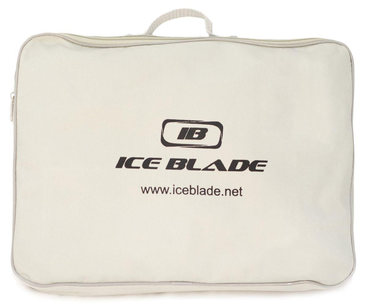 Коньки хоккейные Ice Blade Shark, цвет:  черный, желтый.  УТ-00006841.  Размер 34 Ice Blade