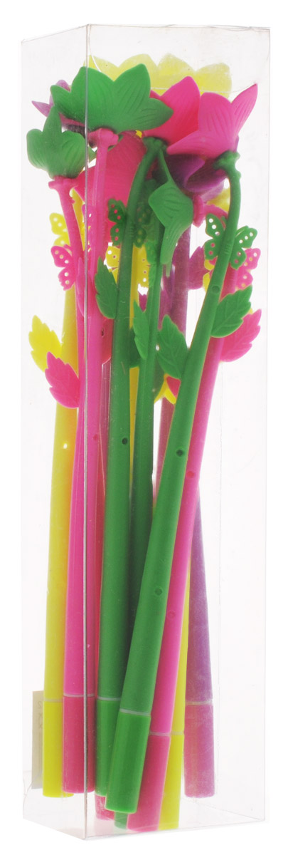 Оригинальные шариковые ручки Эврика выполнены из мягкого полимера в виде симпатичных цветочков. Ручки могут гнуться в разные стороны. Гибкие, удобные ручки с нескользящим корпусом, шариковым пишущим стержнем и удивительным флористическим дизайном вдохновят свежестью формы каждого обладателя. Ручки с синими чернилами и компактными пластиковыми колпачками. Такая ручка станет отличным подарком и незаменимым аксессуаром, она несомненно, удивит и порадует получателя. Сотрудниц, родных, знакомых и любимых девушек можно радовать целыми букетами, составленными из ручек с разным декором.