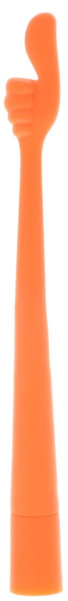 Гибкая шариковая ручка Эврика Пальчики: Во! выполнена в виде игрушечной руки из специальной термопластической резины, позволяющей сгибать-разгибать корпус, придавая ручке причудливые формы. На пальце изображена веселая рожица, что придаёт ручке забавный вид. Эта ручка - великолепный сувенир, создающий радостное настроение, а также хороший подарок школьнику или шуточный приз в конкурсе. Цвет чернил: синий.