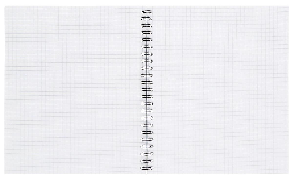 Общая тетрадь Erich Krause на металлическом гребне пригодится как школьнику, так и студенту. Такое практичное и надежное крепление позволяет отрывать листы и полностью открывать тетрадь на столе. Обложка изготовлена из картона и оформлена геометрическим рисунком.  Внутренний блок выполнен из белой бумаги в стандартную клетку без полей. Тетрадь содержит 60 листов формата А5. Вне зависимости от профессии и рода деятельности у человека часто возникает потребность сделать какие-либо заметки. Именно поэтому всегда удобно иметь эту тетрадь под рукой, особенно если вы творческая личность и постоянно генерируете новые идеи.