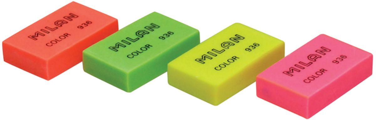 Ластик Milan Color 936 - это универсальный синтетический ластик широкого спектра применения. Яркие неоновые цвета, плотная структура. Высокие абсорбирующие показатели.