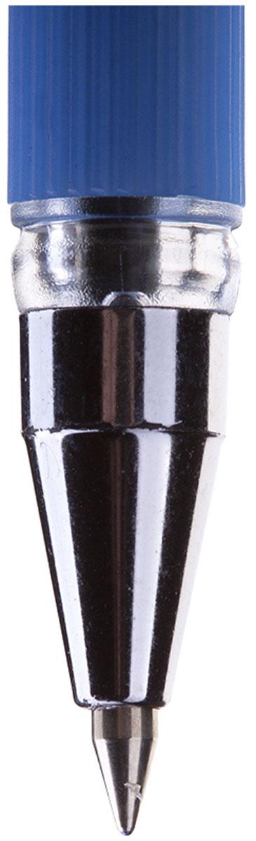 Шариковая ручка Berlingo Mega Soft с синими чернилами. Пишущий узел с шариком 0,5 мм обеспечивает качественное и аккуратное письмо. Масляные чернила наносятся мягко и ровно. Ручку Mega Soft не надо расписывать - ощутите легкость письма с первого касания. Утолщенный мягкий резиновый грип не деформируется и делает использование ручки еще более комфортным.