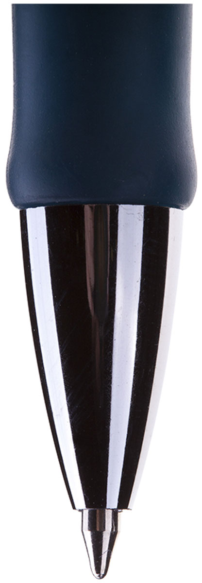 Автоматическая шариковая ручка Berlingo Modern с мягкой резинкой прекрасно подходит для комфортного письма.Цвет чернил: синий.