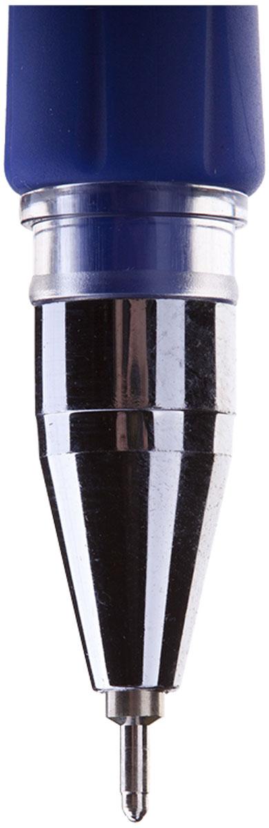 Шариковая ручка Berlingo  SG-1 с прозрачным корпусом и пластиковым клипом. Мягкий резиновый грип препятствует скольжению пальцев и обеспечивает комфортное письмо. Диаметр пишущего узла - 0,5 мм. Чернила на масляной основе.