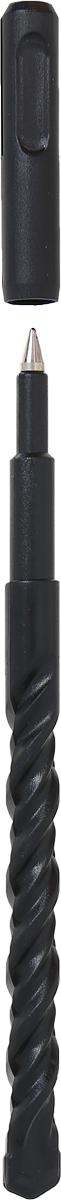 Оригинальная ручка Эврика, выполненная из полимера черного цвета в виде сверла, несомненно, удивит вас своим дизайном. Ручка снабжена колпачком.Такая ручка станет отличным подарком и незаменимым аксессуаром, который будет радовать вас каждый день.