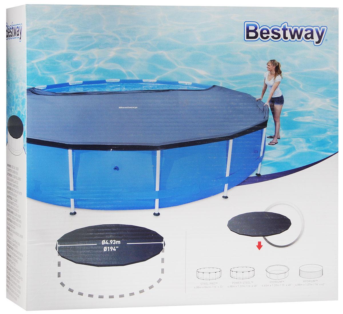 BestwayТент для каркасных бассейнов 493 см Bestway