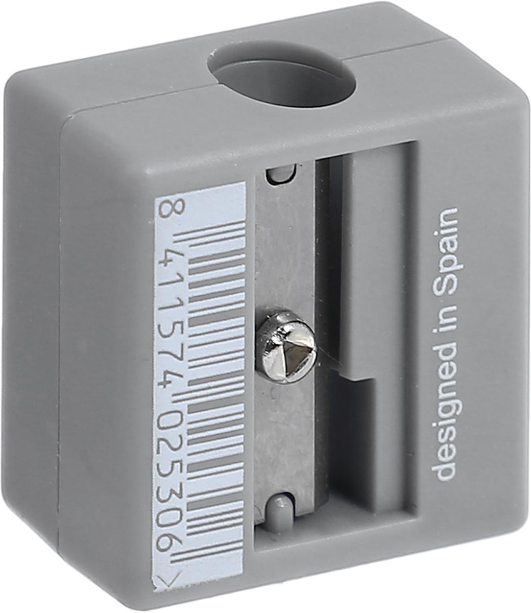 Компактная точилка Milan Afila оснащена безопасной системой заточки.Эта система предотвращает отделение лезвия от точилки. Идеально подходит для использования в школах. Стальное лезвие острое и устойчиво к повреждению. Идеально подходит для заточки графитовых и цветных карандашей
