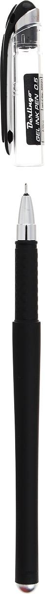 Лаконичная гелевая ручка Berlingo Ultra с колпачком и клипом имеет стильный дизайн.Цвет корпуса соответствует цвету чернил. Диаметр пишущего узла - 0,5 мм.