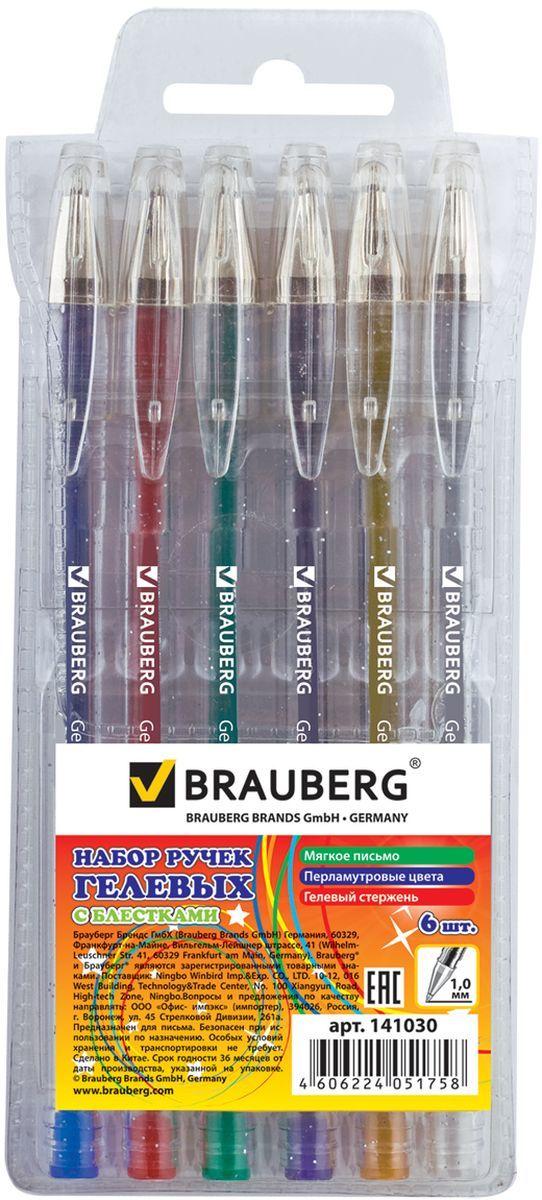 Набор Brauberg Jet включает в себя гелевые ручки различных цветов с блестками. Рекомендован для детского творчества. Ручки упакованы в мягкий пластиковый футляр.