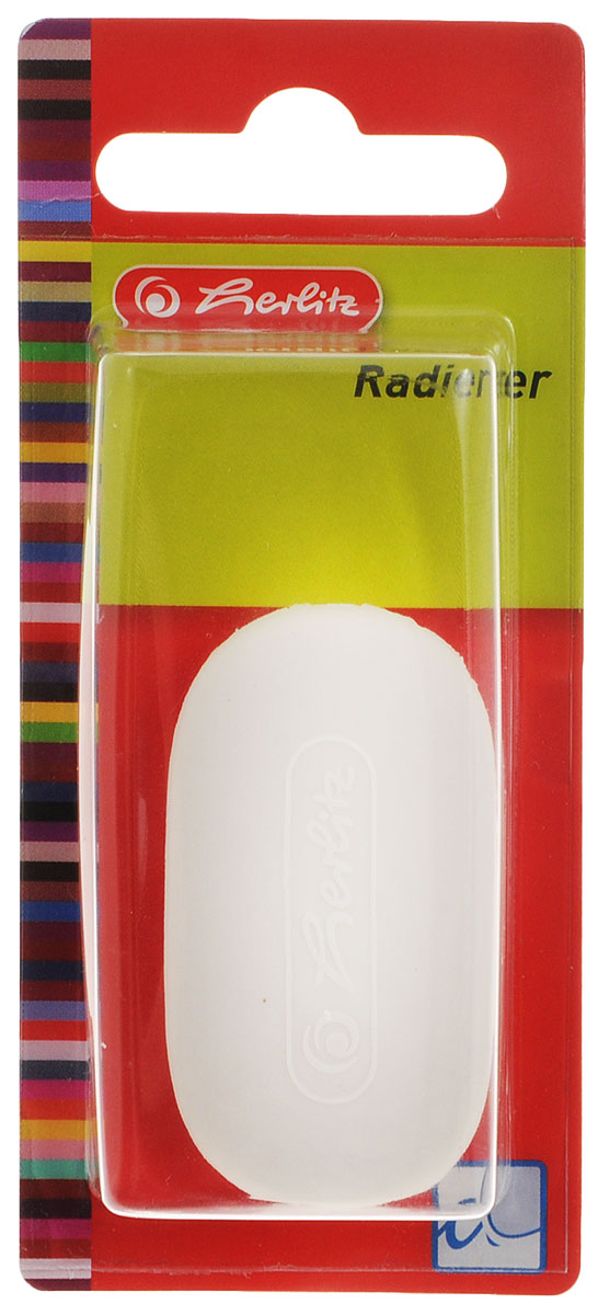 Ластик Herlitz овальной формы хорошо стирает линии, оставленные графитовыми или цветными карандашами. Он изготовлен из термопластичного каучука. Такой ластик не повреждает поверхность и не оставляет грязных следов. Он станет вашим замечательным помощником при рисовании или других графических работах.