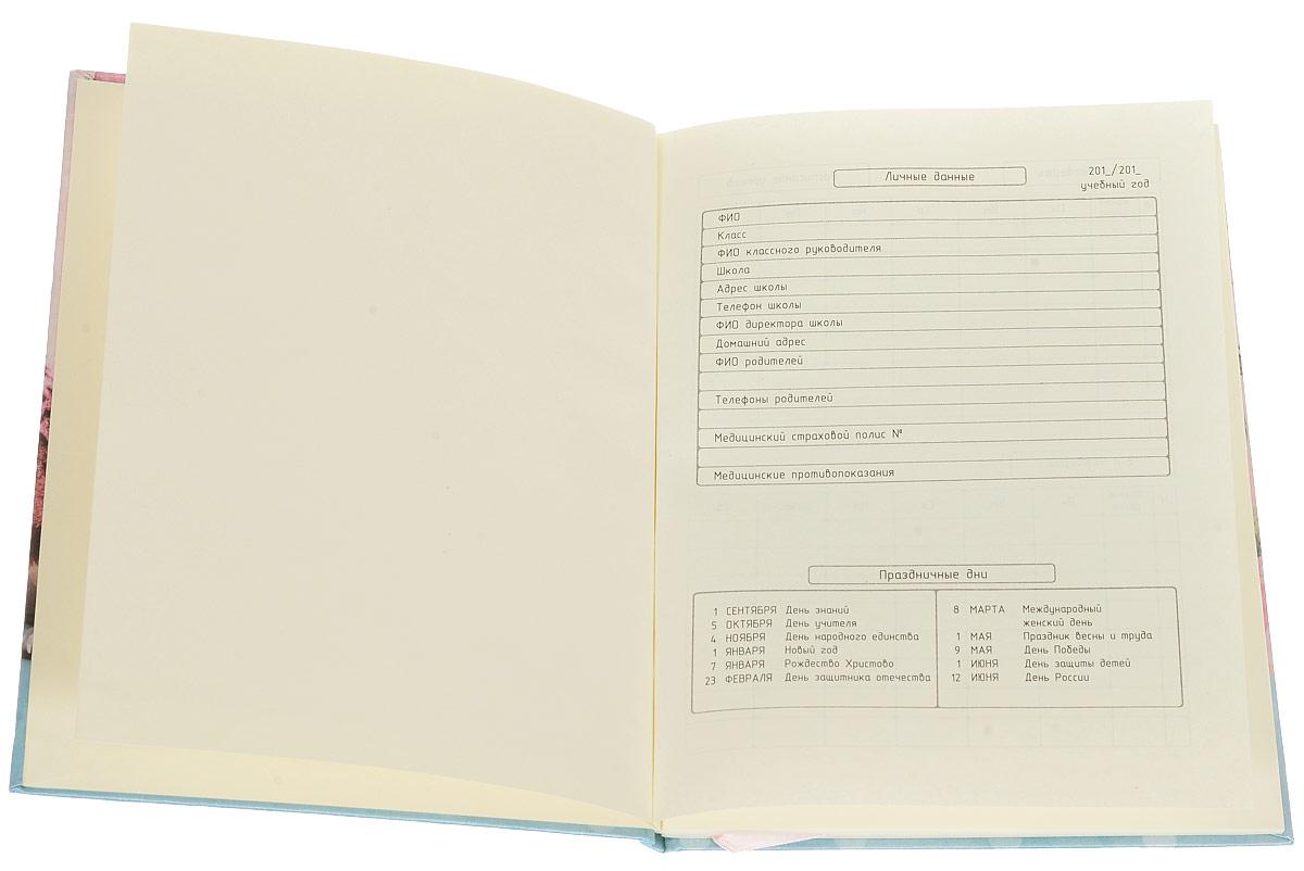 Школьный дневник Proff Любимые питомцы поможет вашему ребенку не забыть свои задания, а вы всегда сможете проконтролировать его успеваемость.Внутренний блок дневника состоит из 48 листов белой бумаги с линовкой коричневого цвета. Обложка выполнена из твердого картона, покрытого тканью с цветной печатью. Дневник имеет ляссе.В структуру дневника входят информация о личных данных ученика, школе и педагогах, расписание факультативов и занятий. В конце дневника имеется сведение об успеваемости за год.