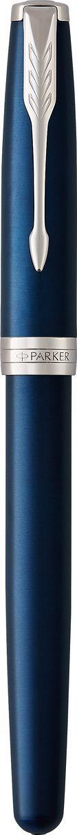 Коллекция Parker Sonnet отличается тонкой гармонией, с которой в ней соединяются традиция и оригинальность. Ее уникальность таится в умеренном стиле и классических формах. Это - идеальное сочетание уверенного знания и взвешенной мысли, необходимое во все времена.Изысканное лаковое покрытие синего цвета в сочетании с декоративным элементами, покрытыми палладием. Ручка упакована в фирменную коробку Parker. Система заправки: заменяемые стандартные стержни Parker для ручек-роллеров.