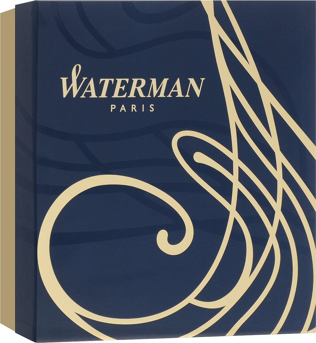 Корпус ручки Waterman Expert Matte Black CT выполнен из хрома насыщенного черного цвета и декорирован отделкой с никеле-палладиевым покрытием. Стержень шариковой ручки выводится поворотом ее верхней части по часовой стрелке. Ручка упакована в фирменную коробку синего цвета с логотипом компании Waterman. В коробке предусмотрено дополнительное отделение, в котором расположен международный гарантийный талон и блокнот с тканевой закладкой-полоской и магнитной застежкой.Ручка Waterman Expert Matte Black CT подчеркнет стиль и элегантность ее владельца и станет превосходным подарком ценителю изящества и роскоши.Ручка - это не просто пишущий инструмент, это - часть имиджа, наглядно демонстрирующая статус, характер и образ жизни ее владельца