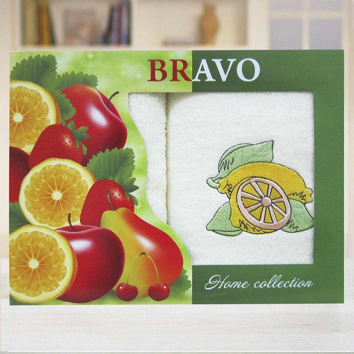Набор махровых полотенец Bravo