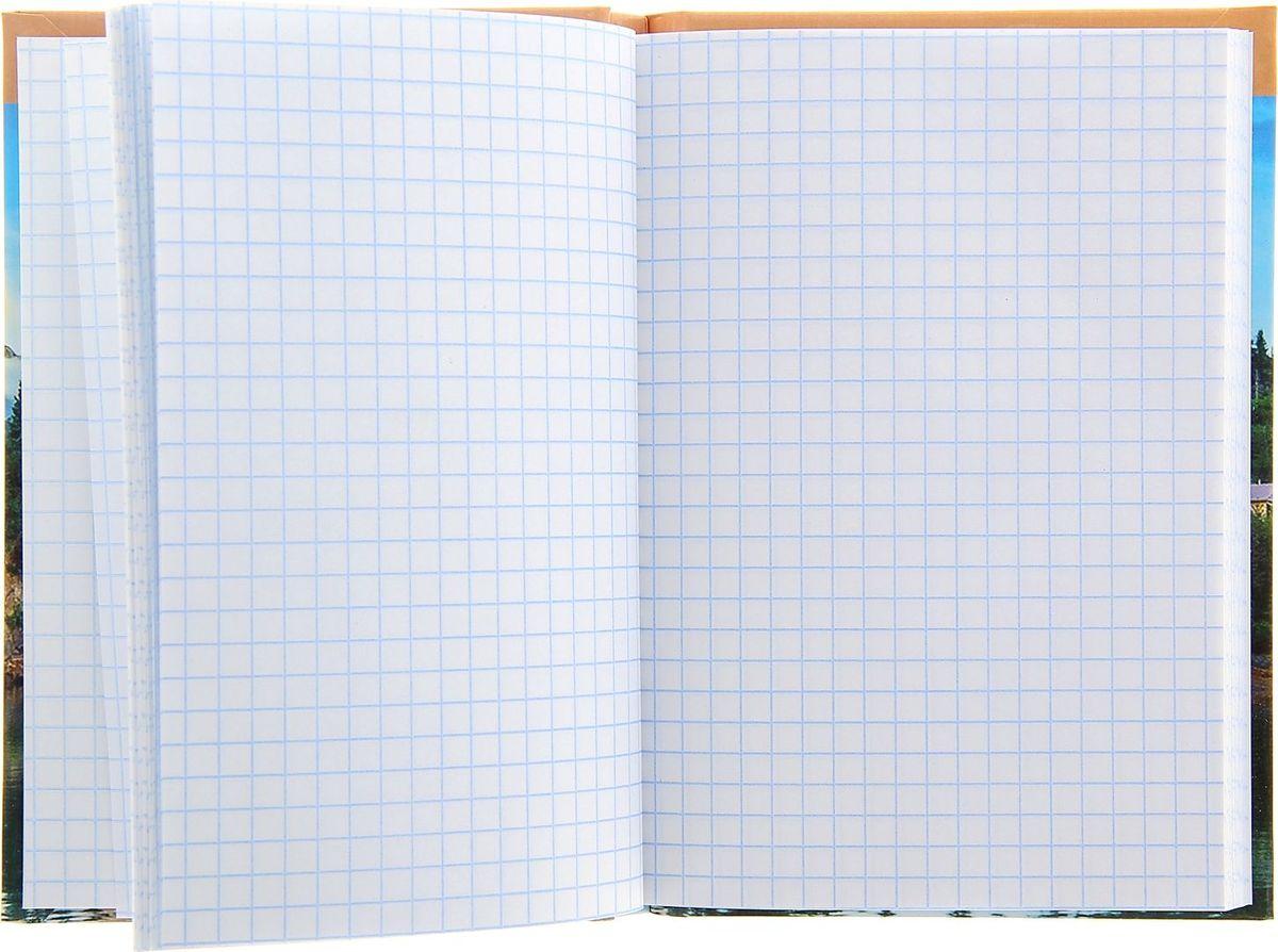 Проф-Пресс Записная книжка Домик у озера 96 листов Проф-Пресс