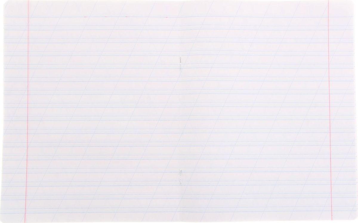Тетрадь BG Школьная идеально подойдет для занятий первокласснику.Плотная обложка с закругленными углами, выполненная из мелованного картона розового цвета, сохранит тетрадь в аккуратном состоянии на протяжении всего времени использования. Внутренний блок состоит из 12 листов белой бумаги в косую линейку с полями. С помощью этой тетради малыши учатся красиво и аккуратно писать, соблюдая правильный размер и наклон своих первых письменных букв.