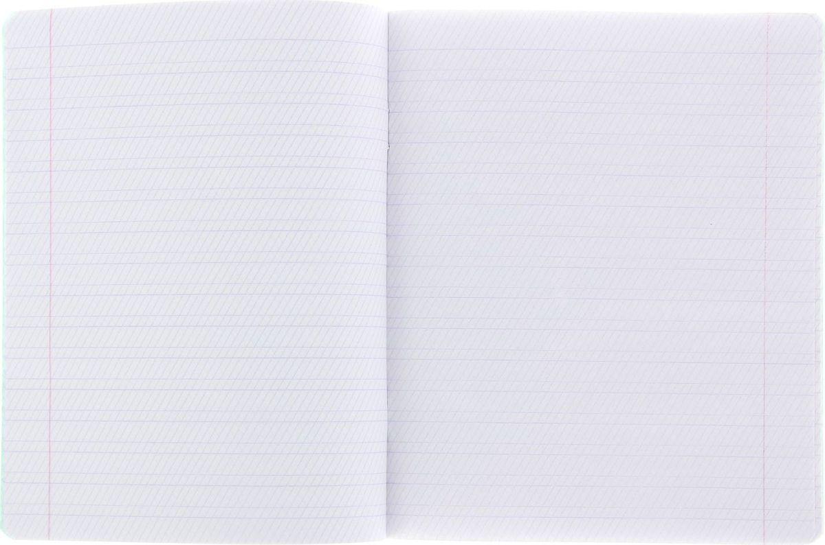Тетрадь КФОБ идеально подойдет для занятий любому школьнику.Обложка с закругленными углами, выполненная из тонкого картона зеленого цвета, сохранит тетрадь в аккуратном состоянии на протяжении всего времени использования. Внутренний блок состоит из 12 листов белой бумаги в косую линейку с полями.Изделие отличается качеством внутреннего блока, который полностью соответствует нормам и необходимым параметрам для школьной продукции.Пусть ваш ребенок получает только хорошие оценки в любимых тетрадях с зеленой обложкой!